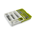 Drawer Store Expandable Cutlery Tray - Green (278-19)