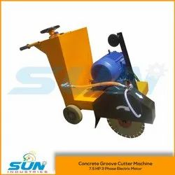 7.5 HP Concrete Groove Cutting Machine