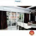 Fenesta Folding Doors Upvc Sliding Door, For Office, Interior