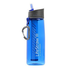 Lifestraw GO Single Stage 650ml Blue Water Bottle
