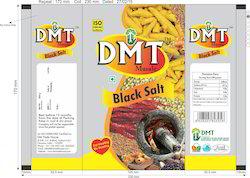 Black Salt Packaging Pouch