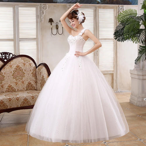Christian Wedding White Gown: White Tulle Christian Wedding Gown Catholic Gowns Wedding