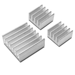 Robocraze 3 in 1 Heat Sinks for Raspberry Pi