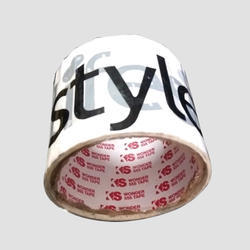 Bopp Self Adhesive Printed Tape, Packaging Type: Box