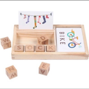 English Alphabets Educational Puzzle