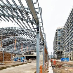 Steel Frame Structures Commercial Complex Construction, For Residential
