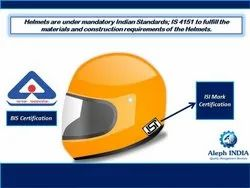 BIS Certification for Helmet