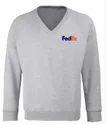 V Neck Corporate Sweatshirt