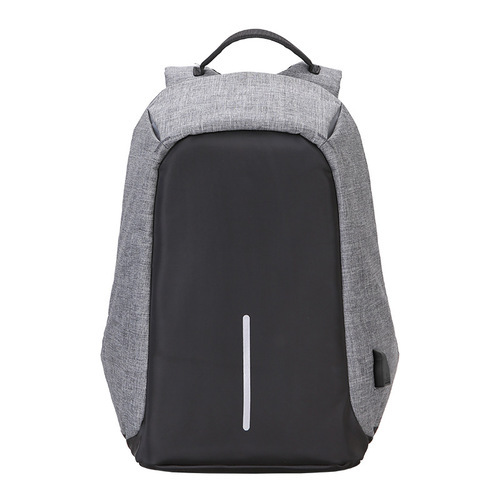 Blue And Grey Anti Theft Backpack 37608b9054dc0