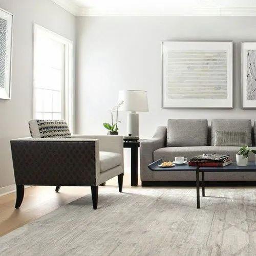 Gray Grey Wooden Leg Sofa Set Rs 40000 Set Primo Decors Id