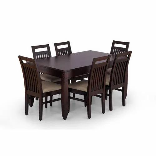 Living Roomz Brown Modern Rosewood Dining Table For Residential Restaurant Rs 84000 Set Id 15246624730