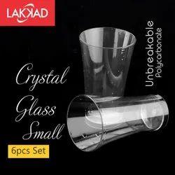 Plastic Transparent Stylish Glass