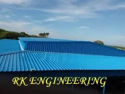 Industrial Steel Shed Construction Service