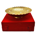 Designer Fruit Silver and Gold Plated Bowl