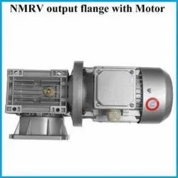 NMRV Worm Gear Motor With Output Flange