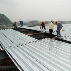 Roofing Sheet Fixing Contract Service