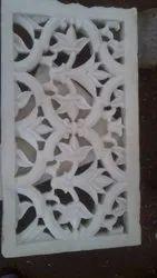 Handmade Flower Design Marble Jali