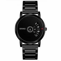 Skmei Round Mens Classy Wrist Watch
