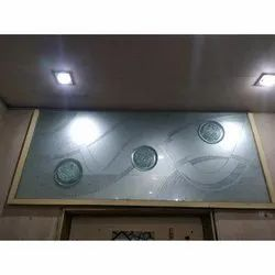 Glossy Transparent Designer Glass Film, Packaging Type: Roll, for Office
