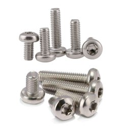 Pan Round Star Screws