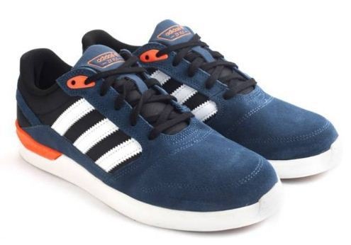 Adidas Zx Vulc Men Skateboarding Shoes Blue