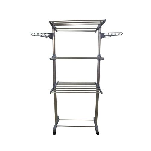 Stainless Steel Outdoor Cloth Drying Stand, Packaging Type
