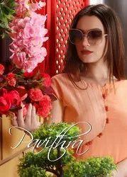 Pavithra-Revaa New Latest Cotton Kurtis With Paint