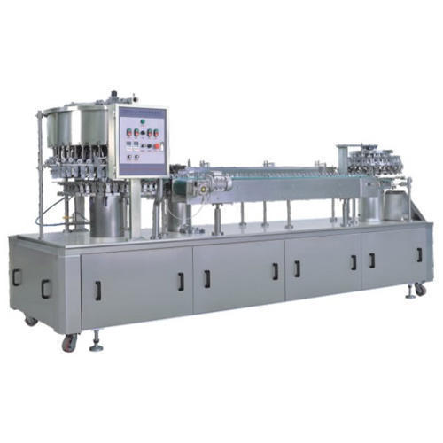 Pack tech Glass Filling, Capacity: 1200 Glass Per Hour, 1