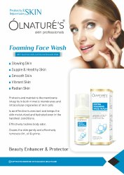 Cosmetic White Foaming Face Wash, Packaging Size: 100ml