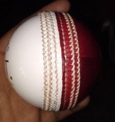 Red Cricket Leather Ball