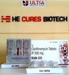 Clarithromycin 500mg Tablets