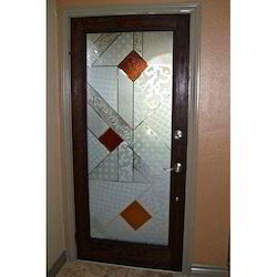 Designer Wooden Glass Doors