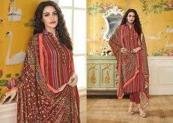 Eba Lifestyle Launch Simran Vol 1 Crepe Digital Print Salwar Suit