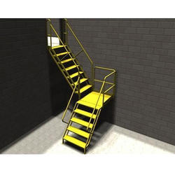 Conveyor Platform Stairs