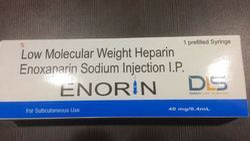 Enorin Enoxaparin Sodium Injection 40 mg/0.4 ml