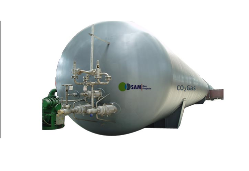 Sam Vacuum Jacketed Tanks, Capacity: 1000-5000 L