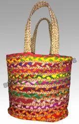 Handmade SGE Multi Jute Bag