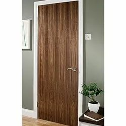 Brown Waterproof Walnut Veneered Door
