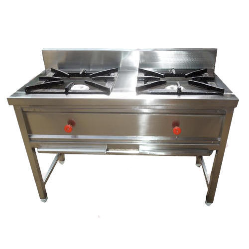 commercial gas range. Interesting Commercial 2 Burner SS Commercial Gas Range With B
