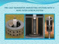 Rain Water Harvesting With Pre Cast V Wire Technology