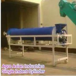 Single Indented Cylinder