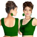 Abhi Ready Stretch Wear Soft Cotton Blouse with Sleeveless