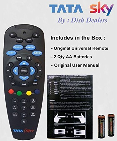 black tata sky hd remote rs 299 piece joshi traders id 18904766862 rh indiamart com tata sky hd stb manual tata sky hd remote user manual
