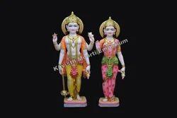 Marble Vishnu Laxmi Idol