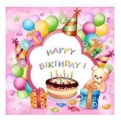Birthday Party Card Printing Service