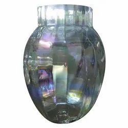 Glossy Glass Flower Pot