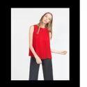 Women Red Top