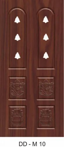 DD-M10 Wooden Pooja Room Door