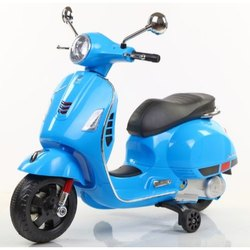 Kids 6V Battery Operated Toyhouse Vespa Scooter