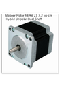 Stepper Motor NEMA 23 7.2 kg-cm Hybrid Unipolar Dual Shaft